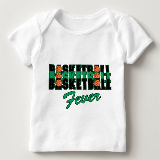 Basketball Fever Baby T-Shirt