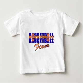 basketball fever blue and orange design baby T-Shirt