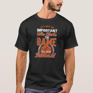 Basketball (Finish The Game) T-Shirt
