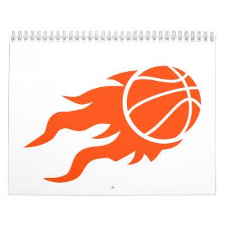 Basketball fire calendar
