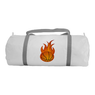 Basketball Fire   Sport Gifts Gym Bag