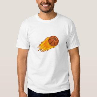 Basketball Flames Shirt