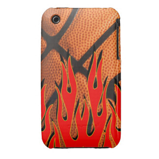 Basketball Flaming Hot Iphone case Case-Mate iPhone 3 Cases