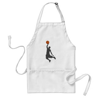 Basketball Fly Guy Adult Apron