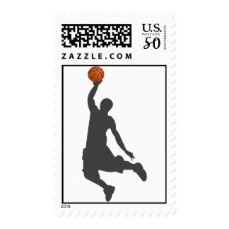 Basketball Fly Guy Postage