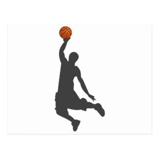 Basketball Fly Guy Postcard