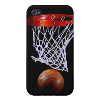 Basketball for 4/4S iPhone 4 Cover