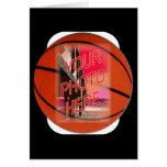 Basketball Frame Template Card