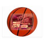 Basketball Frame Template Post Cards