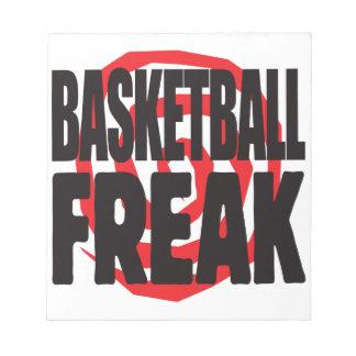 Basketball Freak Memo Note Pad