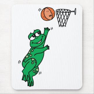 Basketball Frog Mouse Pad