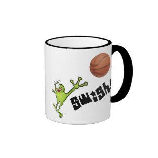 Basketball Frog Mug