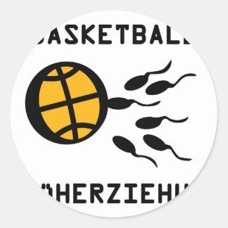 Basketball Früherziehung icon Stickers