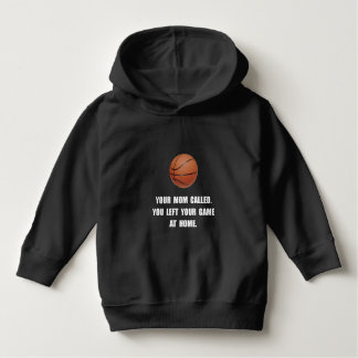Basketball Game At Home Hoodie