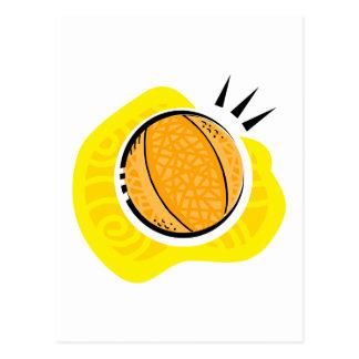 Basketball Game Postcard