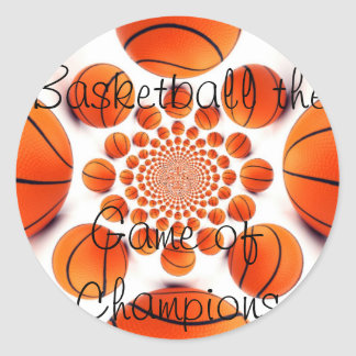 Basketball Game Sticker