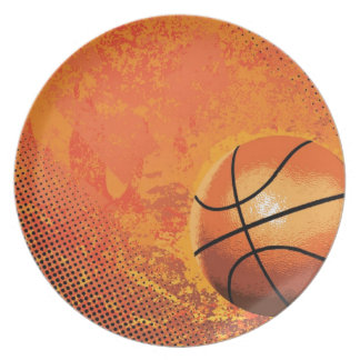 basketball game team player tournament court sport dinner plate