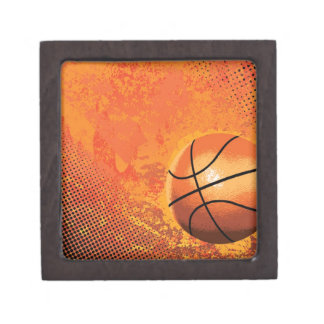 basketball game team player tournament court sport jewelry box
