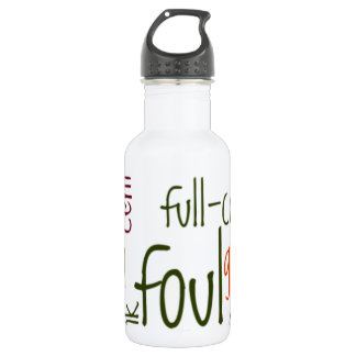Basketball games.png stainless steel water bottle