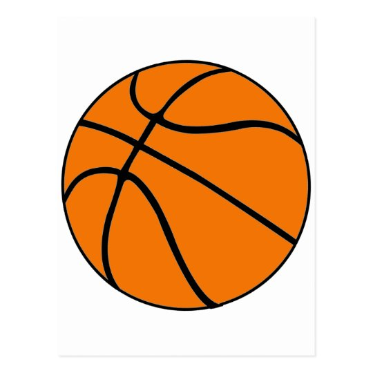 Basketball Gear Postcard