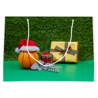 Basketball gift bag Merry Christmas