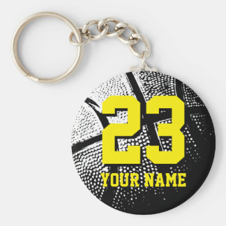 Basketball gifts for team coach, players and fans keychain
