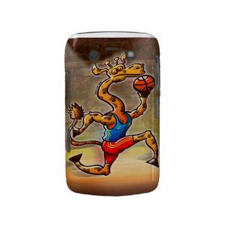 Basketball Giraffe Blackberry Bold Case