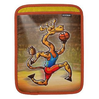Basketball Giraffe iPad Sleeve