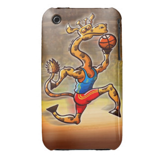 Basketball Giraffe iPhone 3 Case-Mate Case