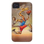 Basketball Giraffe iPhone 4 Cases