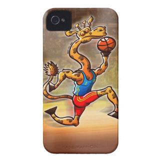 Basketball Giraffe iPhone 4 Covers