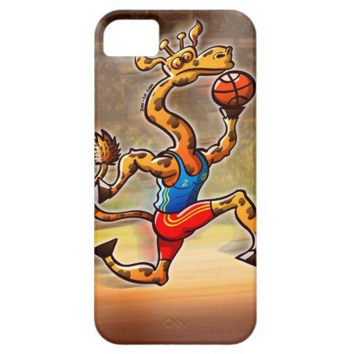 Basketball Giraffe iPhone 5 Covers
