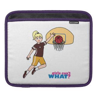 Basketball-girl 1 iPad sleeve
