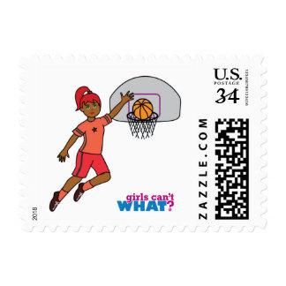 Basketball-girl 3 postage