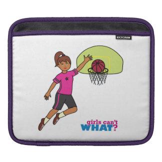 Basketball-girl 4 iPad sleeve