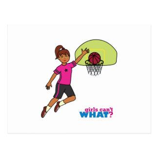 Basketball-girl 4 postcard