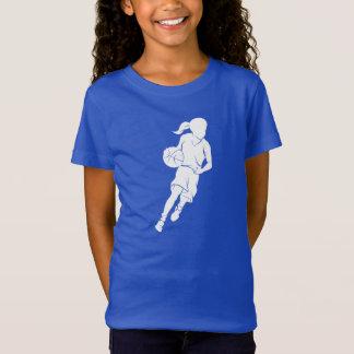 Basketball Girl Dribbling T-Shirt