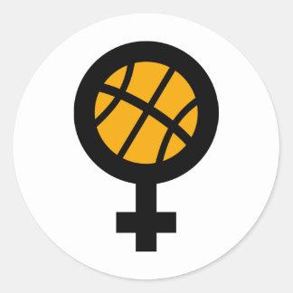 basketball girl female stickers
