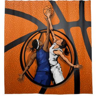 Basketball Ball Shower Curtains | Zazzle