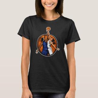 Basketball Girl's Jump Ball T-Shirt