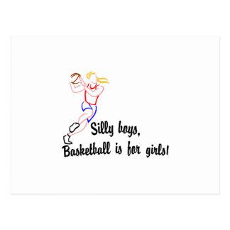 Basketball Girls Postcard