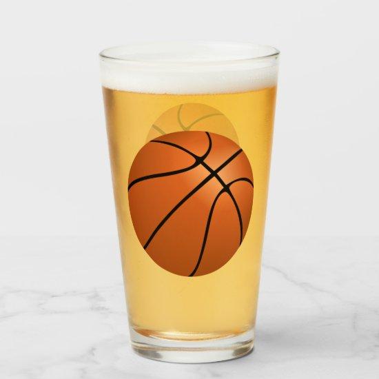 Basketball Glas