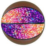 Basketball Glitter Graphic