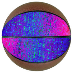 Basketball Glitter Star Dust at Zazzle