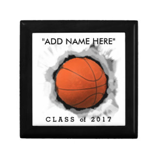 BASKETBALL GRADUATION GIFT IDEAS KEEPSAKE BOX