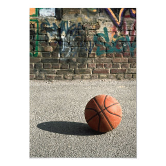 Basketball & Graffiti Card