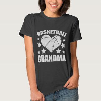 BASKETBALL GRANDMA T SHIRT
