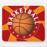 Basketball Graphic Mousepad