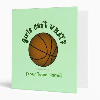 Basketball - Green Binder