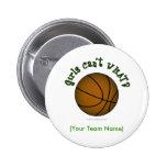 Basketball - Green Buttons